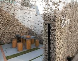 145 best gabion wall images on Pinterest Gabion wall Wall