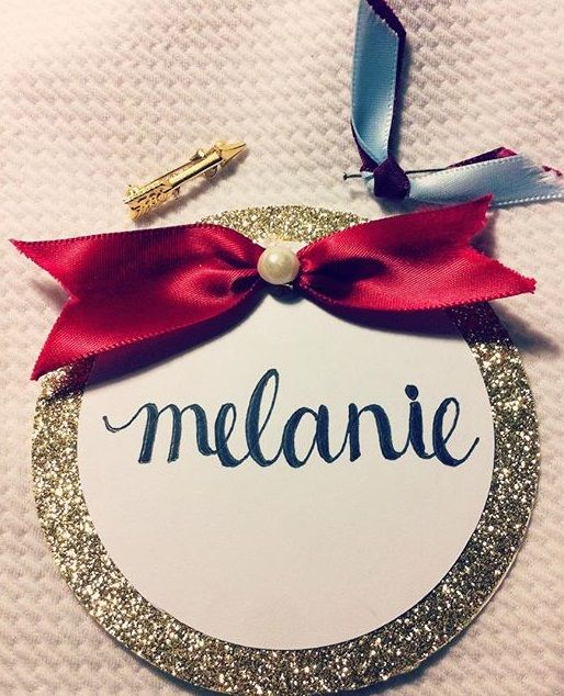 Adorable Pi Beta Phi name tag! #piphi #pibetaphi