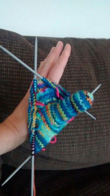Thumb down mittens!