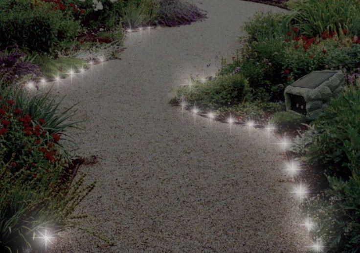 17 meilleures id es propos de eclairage exterieur led sur pinterest la maison d 39 clairage - Eclairage allee de jardin ...