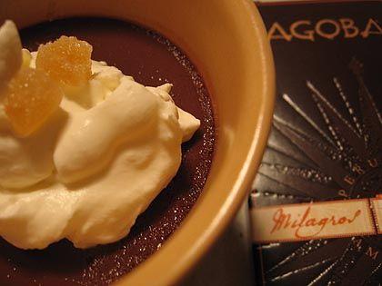 Chai Chocolate Pots de Creme with Dagoba Chocolate from jemangelaville.com