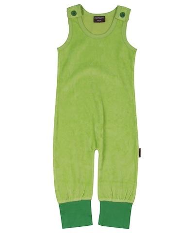 Maxomorra Green Velour Dungarees £14.99
