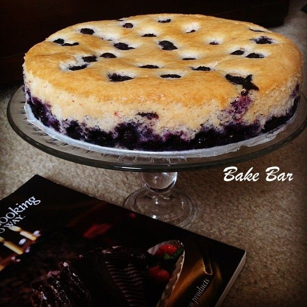 how to make blueberry cheesecake without baking