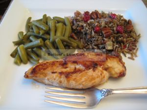 Wild Rice Cranberry Stuffing