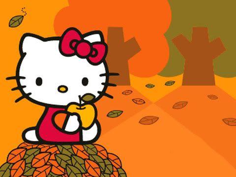 hello kitty fall wallpaper - photo #7