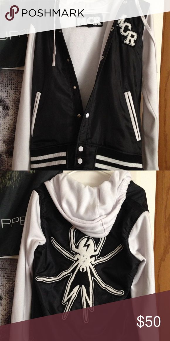 My Chemical Romance Varsity Jacket Brand new, never worn. Purchased from the official MCR website. Feel free to make offers! Hot Topic Jackets & Coats