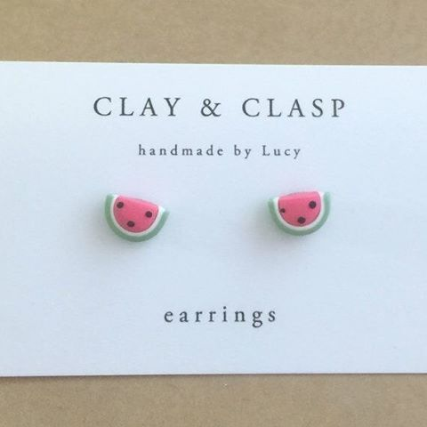 Ohhhhh WATERMELON EARRINGS...I totally yelled that because I get excited over watermelon cuteness. search 'watermelon earrings' on dtll.com.au or click on the shopable link in our profile to buy #dtll #downthatlittlelane