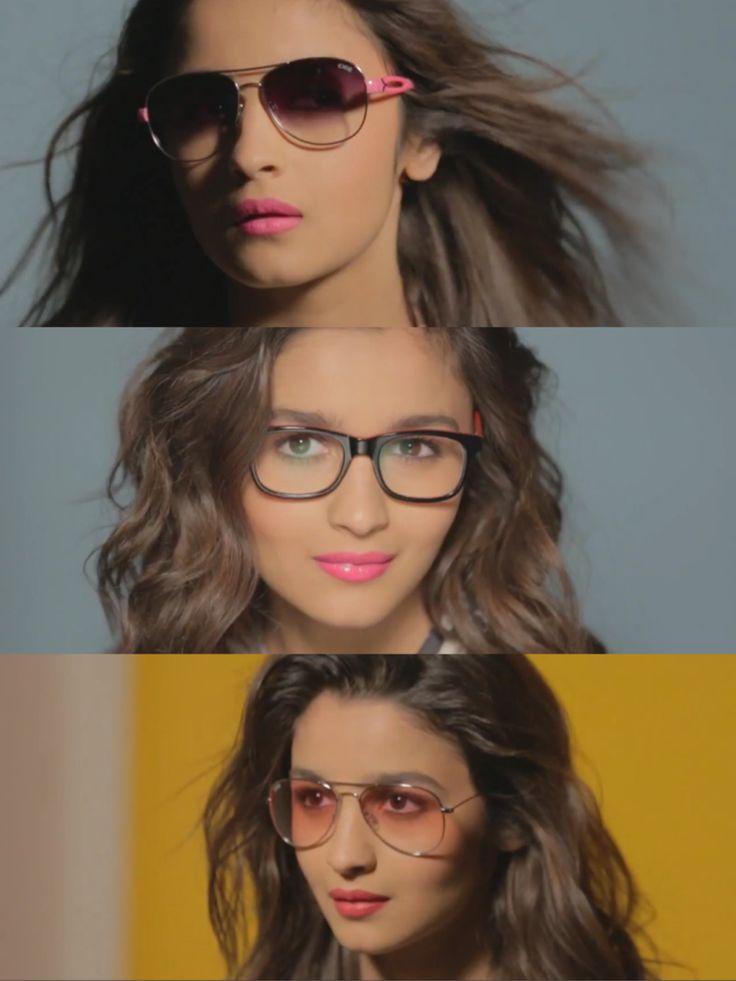 Alia Bhatt for IDEE Eyewear 2014 photoshoot
