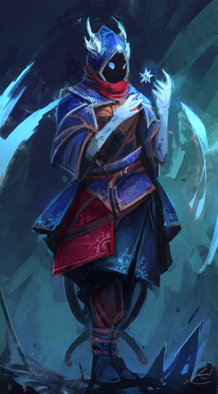 Ice Mage Concept by JasonTN.deviantart.com on @DeviantArt
