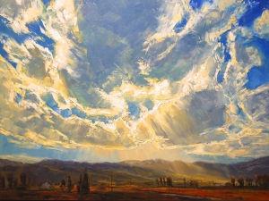 Heavy on the light: Dana Gallery showing paintings by Idaho artist Caleb Meyer