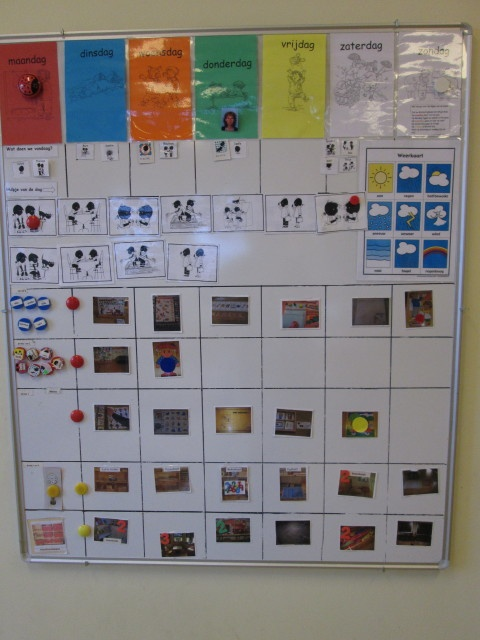 Extreem 18 best planbord kleuters images on Pinterest | Classroom ideas  IY41