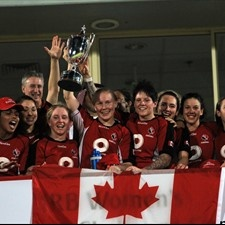 Canada rugby women win their first IRB 7's Challenge Cup in Dubai