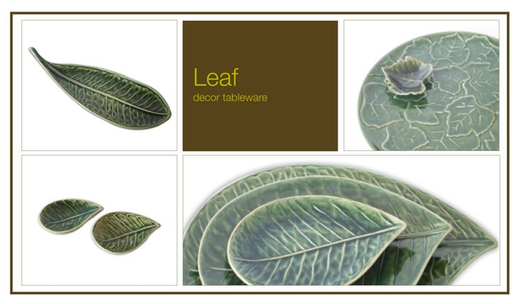 Plates ceramics with leaf ideas. For enquries please email us : supervictory.travel@gmail.com