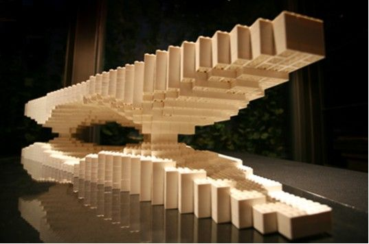 LEGO ARCHITECTURE: Building Asia Brick by Brick Building Asia Brick by Brick, ArtAsiaPacific Magazine, People's Architecture Foundation, LEGOs, MADA s.p.a.m Architectural Model, Shanghai & Los Angeles – Inhabitat - Sustainable Design Innovation, Eco Architecture, Green Building