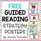 Guided Reading Strategy Posters {FREEBIE}