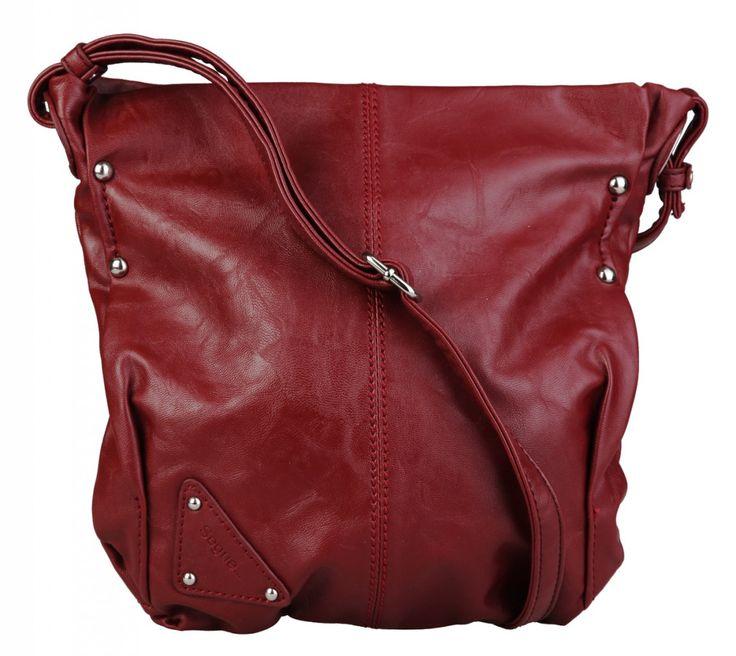 Dámská kabelka / crossbody Segue - tmavě červená | obujsi.cz - dámská, pánská, dětská obuv a boty online, kabelky, módní doplňky
