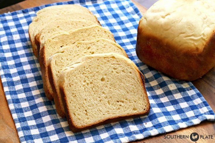 soft hawaiian sandwich bread homemade bread machine recipe ...