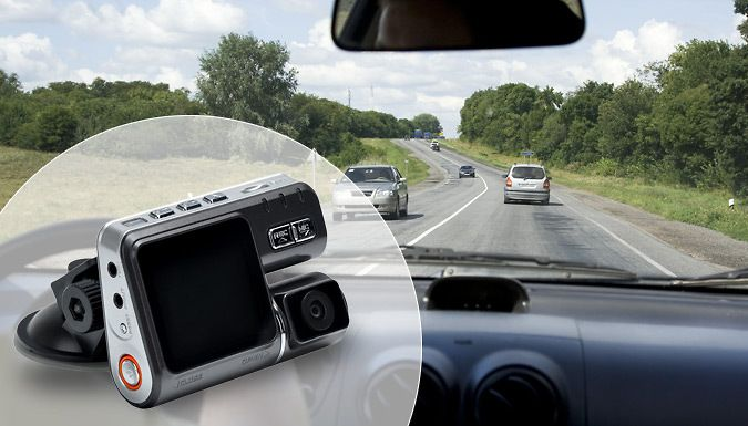 Buy HD Car Camera with Night Vision for just £10.99 Drive in total confidence with the HD Car Camera with Night Vision      140° wide-angle lens with full colour, high-res video resolution      Features in-built speakers and microphone      Mount directly onto your rear view mirror for increased travel safety      Nightvision function can record journeys after dark      Must-have car...