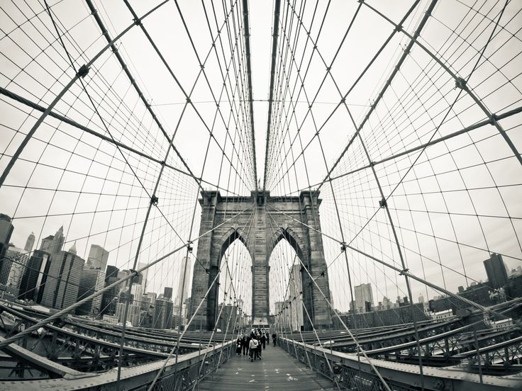 Photo of the Day! Areeb Masood recreates an iconic Brooklyn Bridge shot with a GoPro. #GoPro #GoProTravel