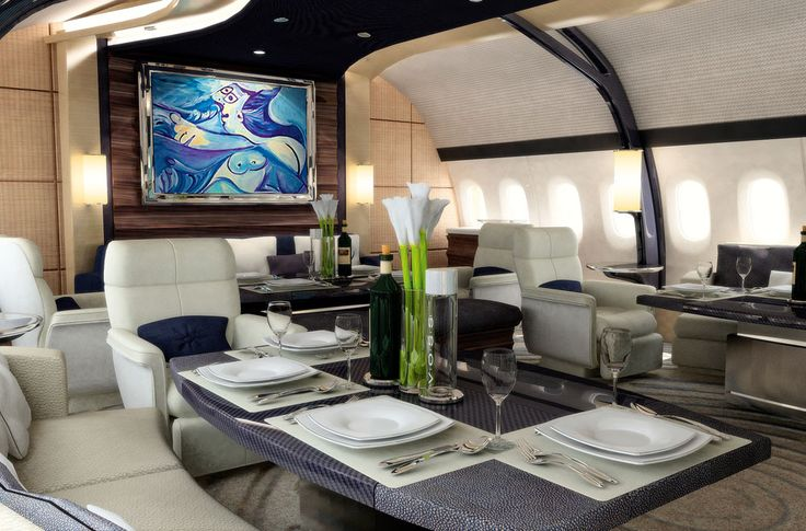 Boeing 787 Dreamliner interior by Andrew Winch Designs