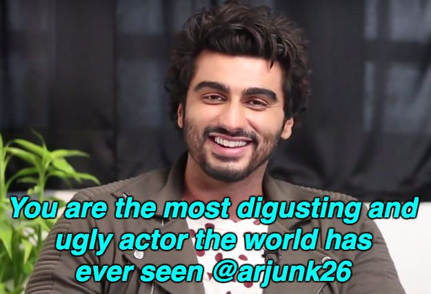 There were solutions. | Arjun Kapoor Read Mean Tweets About Himself And It Was Pure Gold