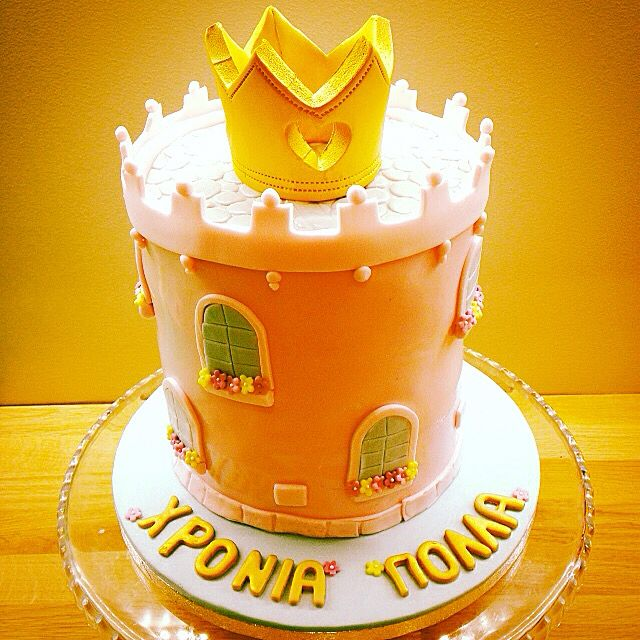 Princess tower cake