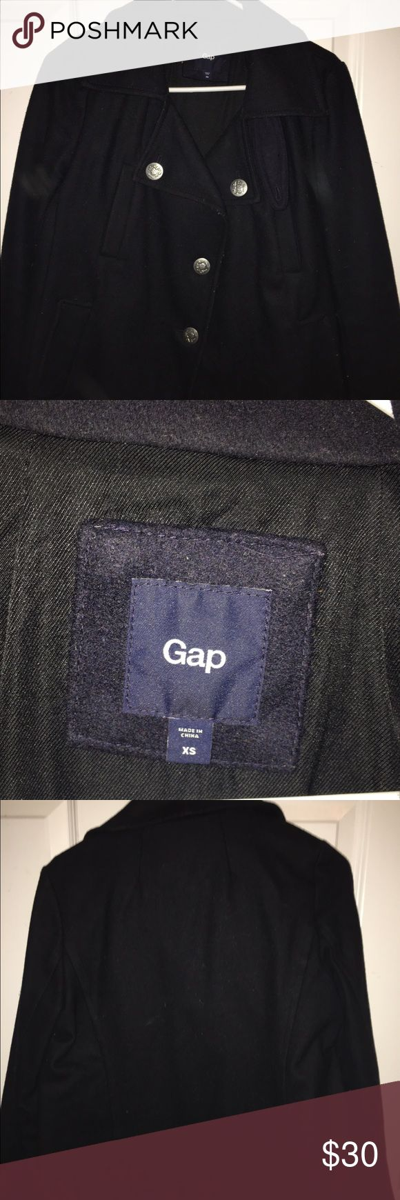 Navy blue Gap coat Navy blue Gap coat GAP Jackets & Coats Pea Coats