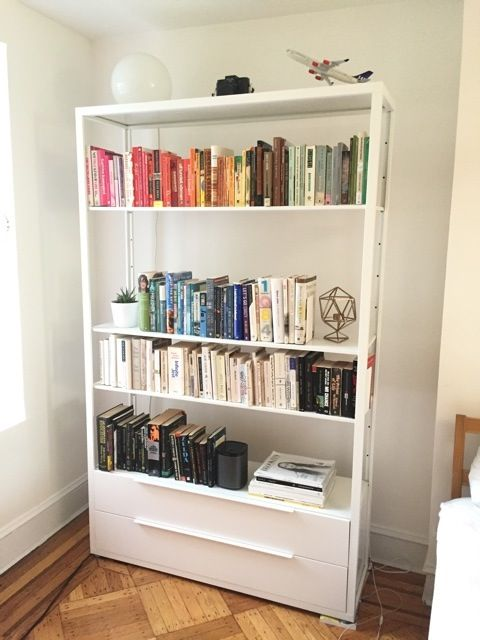 25 best ideas about ikea bookcase on pinterest ikea for Ikea bookcase with drawers