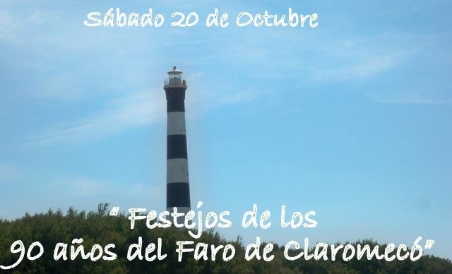 90 años del Faro de Claromecó