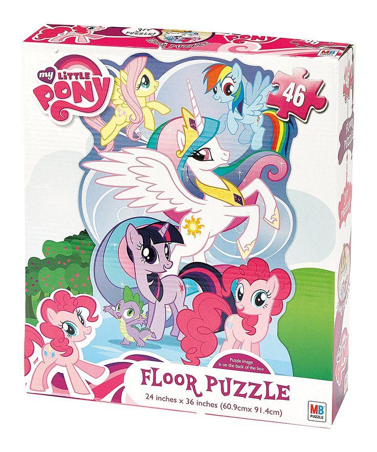 My Little Pony Floor Puzzle