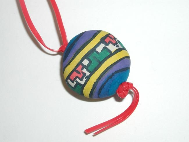 South America: Peruvian Bead Necklace - Hands On Crafts for Kids