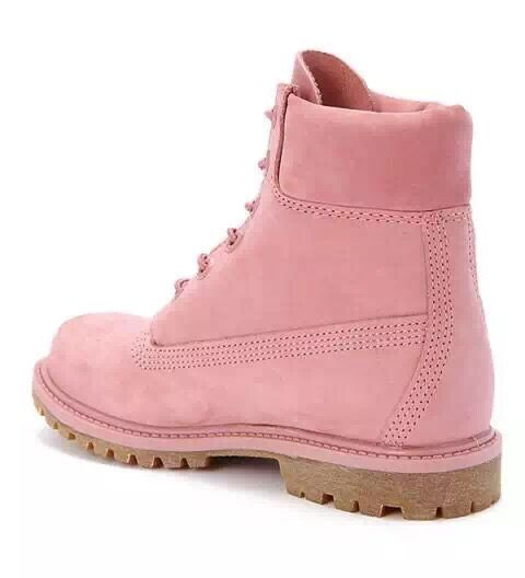 Fashion Winter Timberland 6 inch Premium Boot-Pink For Kids