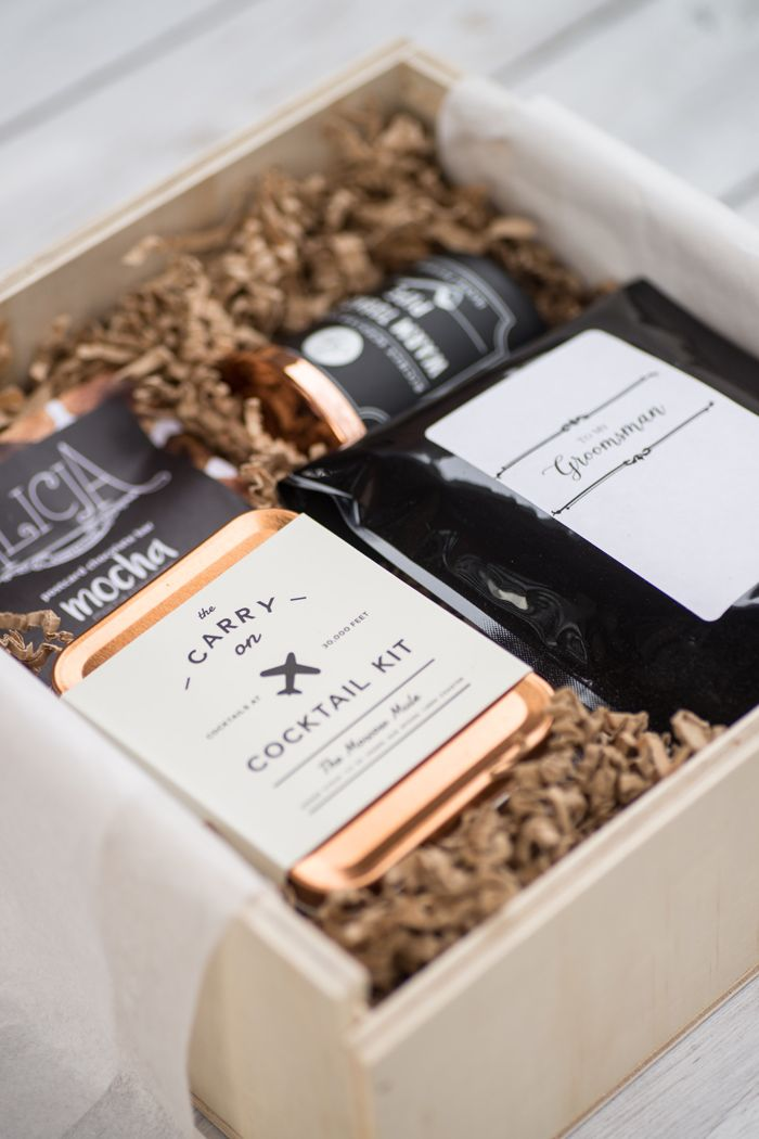 Made In Canada Gift Boxes For Your Wedding Party Packaging Small