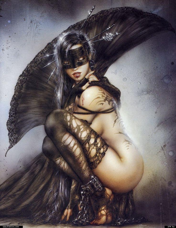 Luis Royo Fantasy Art Gallery | Imagenes de chicas guerreras del maestro Luis Royo de sus colecciones ...