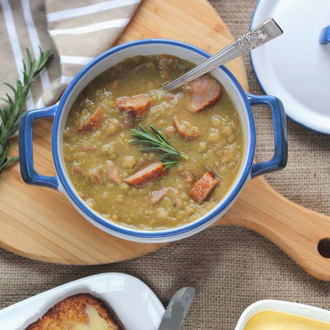 The Kiwi Cook   Pea & Ham Soup