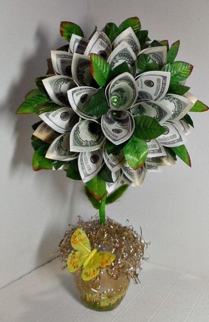 Конфетно денежное дерево своими руками картинки себе
