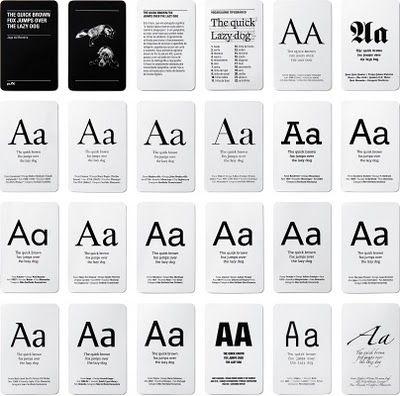 No me toques las Helvéticas | Blog sobre diseño gráfico y comunicación: Memory Tipográfico