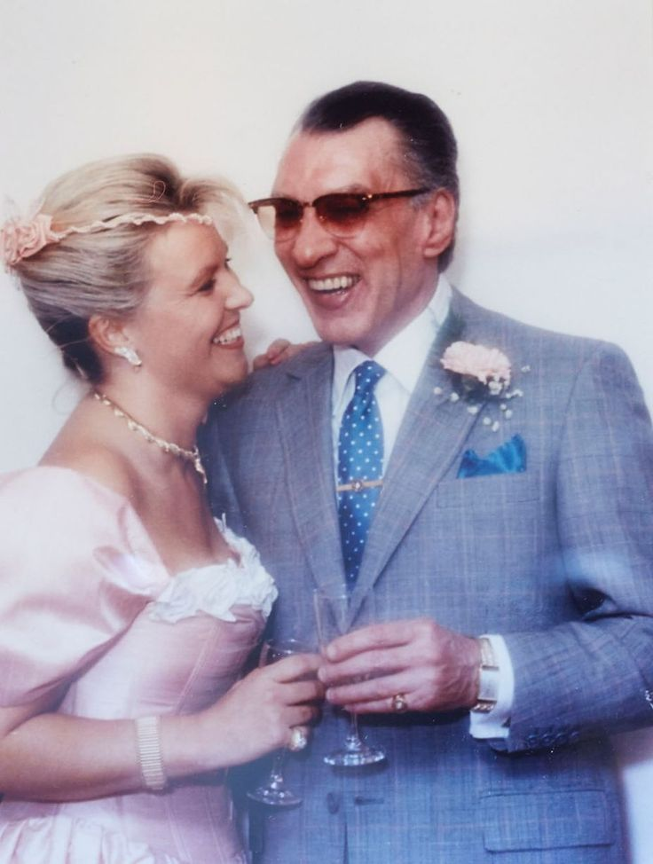 Kray Twins- Ron & his new wife