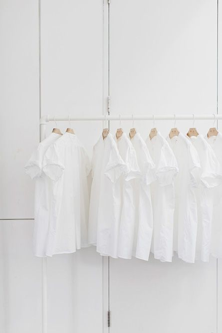 ~A white shirt for every day of the week | The House of Beccaria