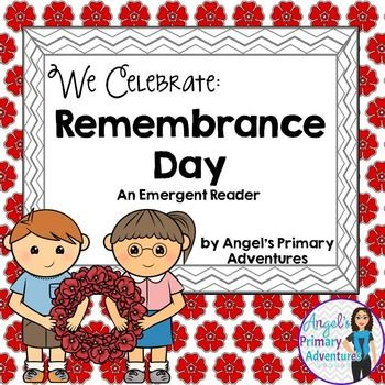 remembrance day canada grade 1