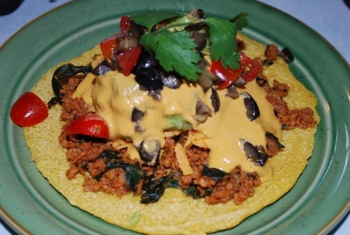 Vegan: Chickpea Flatbread (Gluten-Free): Healthy Vegans, Flats Breads, Free Vegans, Chickpeas Flats, Paleo Gluten, Flatbread Gluten Fre, Gluten Free, Vegans Food, Chickpeas Flatbread