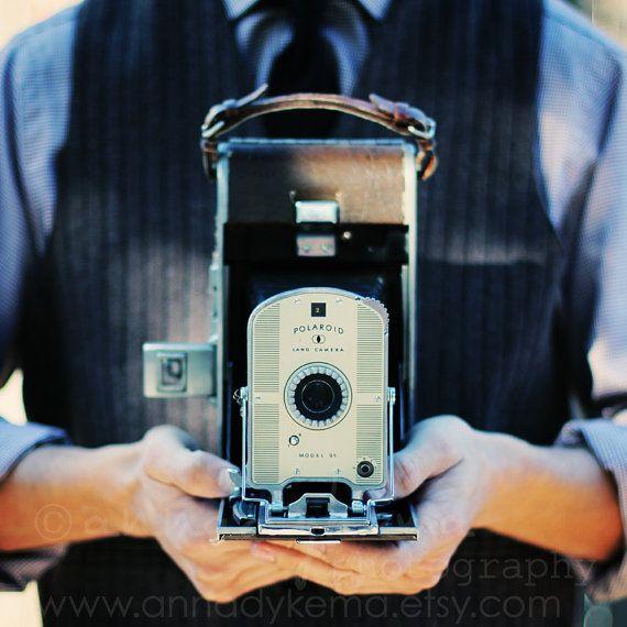 vintage camera decor still life retro geek hipster by annadykema, $30.00