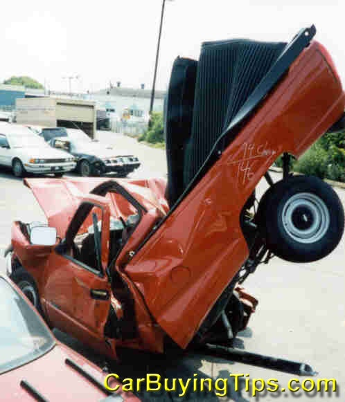 Awesome Crash Of A Pickup Truck. One Of The Best Wreck