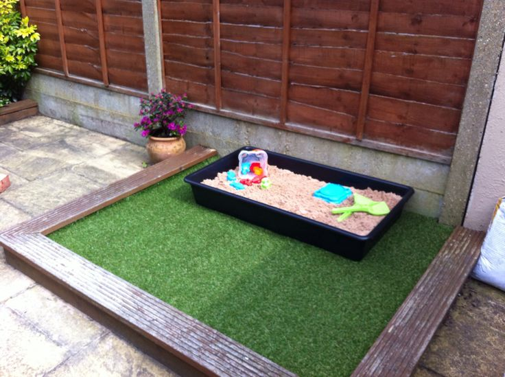 Wonderful Callydoda  My New Toddler Garden Patch, Artificial Grass With Sand Pit And  Room For