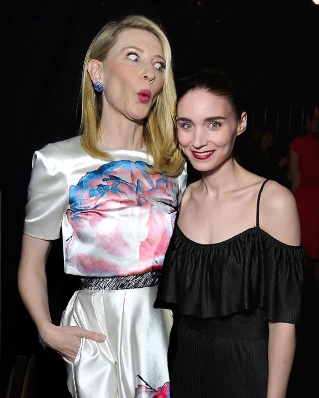 Rooney is so proud of her quirky wife! Cate & Rooney being adorable af #cateblanchett #rooneymara #imissthemsomuch #myedit #ifonlyitwastrue #caterooneylove