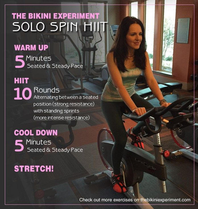 Exercise Bike Hiit: Best 25+ Spin Bike Workouts Ideas On Pinterest
