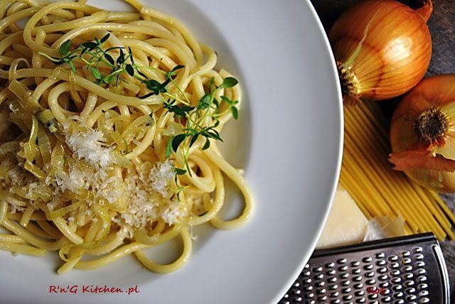 R'n'G Kitchen: Spaghetti z cebulą