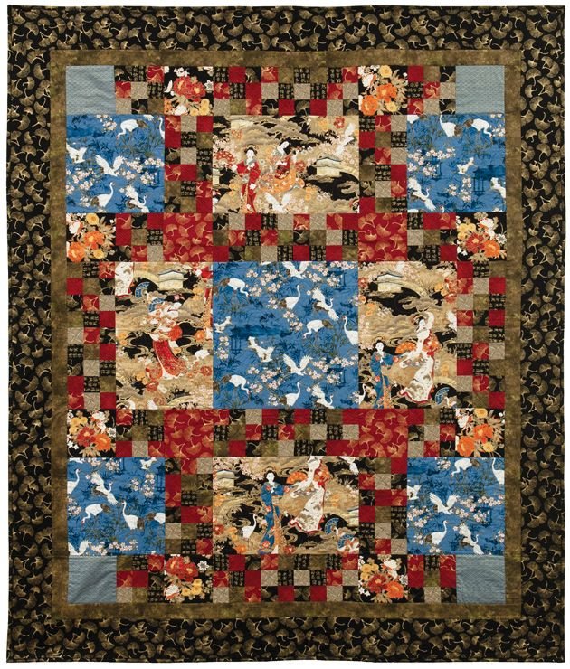 17 Best Images About Asian Quilts On Pinterest Free