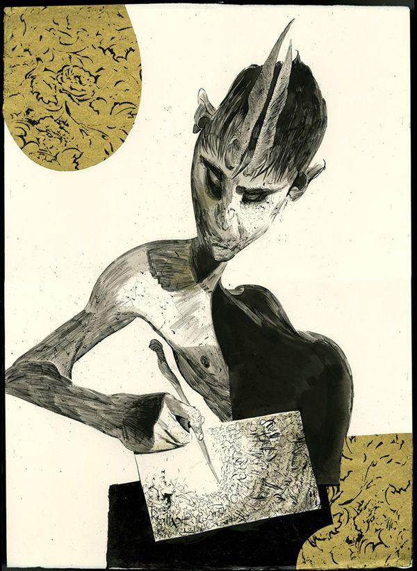 drawings - Dave Mckean