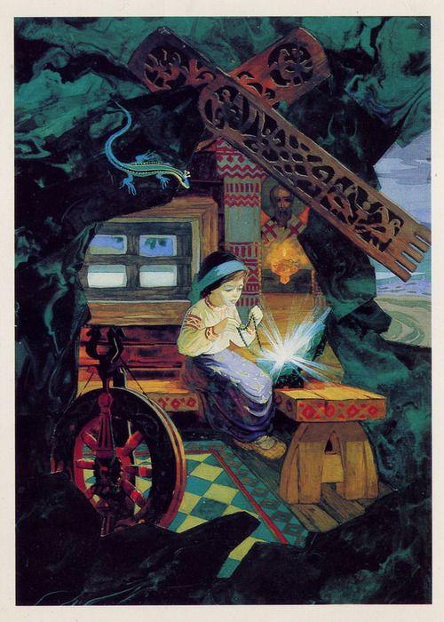 П. Бажов. «Малахитовая шкатулка»
